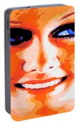 Haunting Harlow Portable Battery Charger