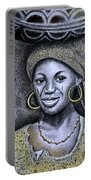 Hausa Maiden  Portable Battery Charger