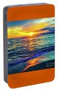 Hawaii Beach Sunset 149 Portable Battery Charger
