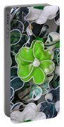 Hawaii Hair Flowers Portable Battery Charger
