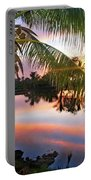 Hawai'i Lagoon Sunrise Portable Battery Charger