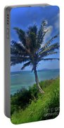 Hawaii Palm Portable Battery Charger