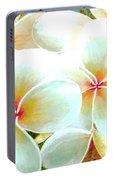Hawaii Plumeria Frangipani Flowers #86 Portable Battery Charger