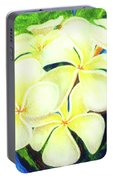Hawaii Tropical Plumeria #158 Portable Battery Charger
