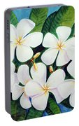 Hawaii Tropical Plumeria Flower  # 220 Portable Battery Charger