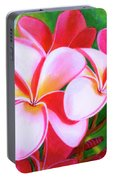 Hawaii Tropical Plumeria Flower #212 Portable Battery Charger