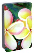 Hawaii Tropical Plumeria Flower #213 Portable Battery Charger