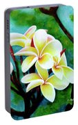 Hawaii Tropical Plumeria Flower #225 Portable Battery Charger