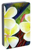 Hawaii Tropical Plumeria Flower #298, Portable Battery Charger