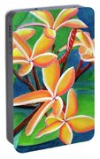 Hawaii Tropical Plumeria Flowers #232 Portable Battery Charger