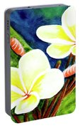 Hawaii Tropical Plumeria Flowers #302 Portable Battery Charger