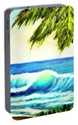 Hawaiian Beach Wave #420 Portable Battery Charger