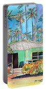 Hawaiian Cottage I Portable Battery Charger
