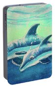 Hawaiian Dolphins  #389 Portable Battery Charger