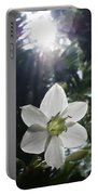 Hawaiian Flower Portable Battery Charger