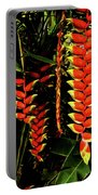 Hawaiian Heliconia Portable Battery Charger