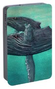 Hawaiian Humpback Whales #455 Portable Battery Charger
