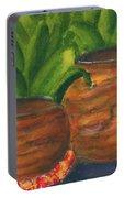 Hawaiian Koa Wooden Bowls #426 Portable Battery Charger