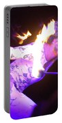 Hawaiian Luau Fire Eater 2 Portable Battery Charger