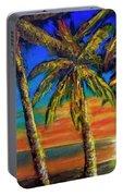 Hawaiian Moon #404 Portable Battery Charger