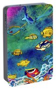 Hawaiian Reef  Fish #223 Portable Battery Charger