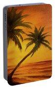 Hawaiian Sunset #380 Portable Battery Charger
