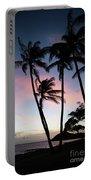 Hawaiian Sunset On Molokai  Portable Battery Charger