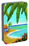 Hawaiian Tropical Beach  #364 Portable Battery Charger