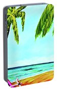 Hawaiian Tropical Beach #367  Portable Battery Charger