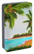 Hawaiian Tropical Beach #429 Portable Battery Charger