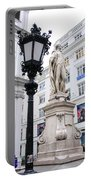 Haydn On Vienna Street Corner Portable Battery Charger