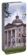 Hays County Courthouse Portable Battery Charger