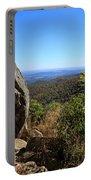 Hazel Mountain Overlook On Skyline Drive In Shenandoah National Park Portable Battery Charger