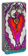 He She Heart Portable Battery Charger