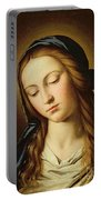 Head Of The Madonna Portable Battery Charger