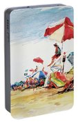 Head  Of The Meadow Beach, Afternoon Portable Battery Charger