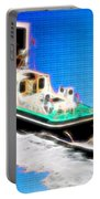 Heading Back To Sea Portable Battery Charger by Sue Melvin