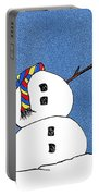 Headless Snowman Portable Battery Charger