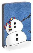 Headless Snowman Portable Battery Charger