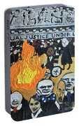 Hear No Evil See No Evil Judicial Abuse Portable Battery Charger