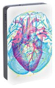 Heart Brain Portable Battery Charger