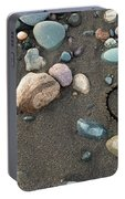 Heart In The Sand Portable Battery Charger