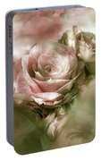 Heart Of A Rose - Antique Pink Portable Battery Charger