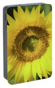 Heart Of Gold Sunflower Portable Battery Charger