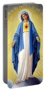 Heart Of Mary Portable Battery Charger
