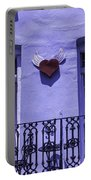 Heart On Wall Portable Battery Charger