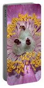 Heart Peony Portable Battery Charger