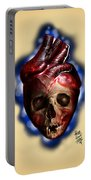 Heart Skull Portable Battery Charger
