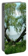 Heart Tree On Lake Saint Clair Portable Battery Charger