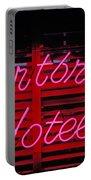 Heartbreak Hotel Neon Portable Battery Charger